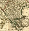 Map,Balkans,Old,Cartography...