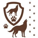 Wolf,Paw Print,Paw,Vector,G...