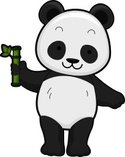 Panda,Smiling,Wildlife,Anim...