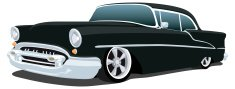Car,Hot Rod,1950s Style,Col...