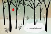 Christmas Card,Winter,Woodl...