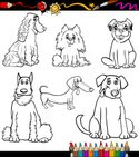 Coloring Book,Dog,Puppy,Ani...