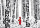 Forest,Little Red Riding Ho...