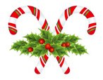 Candy Cane,Holly,Decoration...