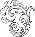 Decoration,Spiral,Curled Up...
