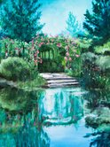 Giverny,Boat Landing,Water ...