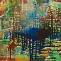 Oil Painting,drippy,Abstrac...