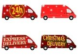 Delivering,Christmas,Pick-u...