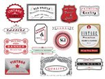 Rubber Stamp,Frame,Retro Re...