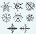Christmas,Snowflake,Illustr...