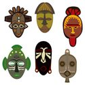 Africa,Mask,African Descent...