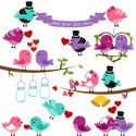 Bird,Bunting,Wedding,Bell,W...
