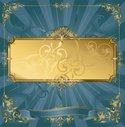 Frame,Gold Colored,Gold,Orn...