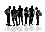 People,Silhouette,Outline,I...