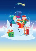 Book,Snowman,Snow,Christmas,W…