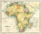 Map,Cartography,South Afric...