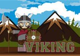 Ilustration,Viking,Chain Ma...