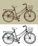 Bicycle,Sketch,Pencil Drawi...