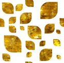 Pattern,Gold Colored,Gold,D...