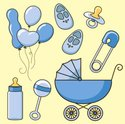 Baby Bottle,Baby Carriage,S...