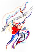 Musical Note,Abstract,Piano...