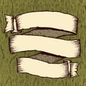 Scroll,Banner,Old,Ribbon,To...