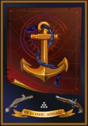 Anchor,Sign,Pirate,Cannon,S...