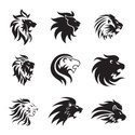 Lions Head,Symbol,Coat Of A...