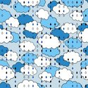 In A Row,Pattern,Wet,Blue,B...