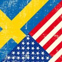 USA,Swedish Flag,Sweden,Ame...