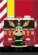 Assistance,Firefighter,Smil...