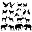 Moose,Deer,Animal,Elephant,...