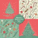 Christmas Card,Pattern,Desi...