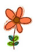 Clip Art,Leaf,Flower Head,C...