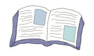 open book,Clip Art,Book,Tex...