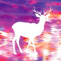 Vector,Backgrounds,Deer,An...