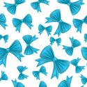 Pattern,Ribbon,Seamless,Blu...