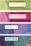 Bookmark,Painted Image,Orna...