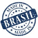 Rubber Stamp,Brazil,Blue,Cl...
