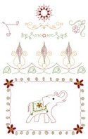 Sewing,Embroidery,Elephant,...