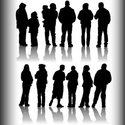 Silhouette,People,Family,Ba...