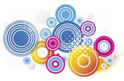 Abstract,Spotted,Circle,Cha...