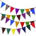 Bunting,Vector,Decoration,F...