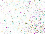 Confetti,Red,Large Group of...