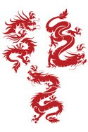 Chinese Dragon,Dragon,Vecto...