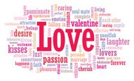 Word Cloud,Love,Text,Valent...