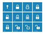 Icon Set,Symbol,Blue,Comput...
