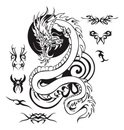 Dragon,Tattoo,Chinese Drago...