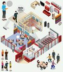 Isometric,People,Sign,Offic...