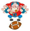 Football,Cartoon,American F...
